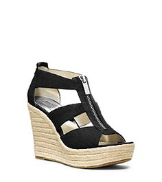 Damita Canvas Espadrille Wedge