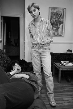 Portrait of partners Alisa and Page, Boston, Massachusetts, United States, 1988, photograph by Sage Sohier.