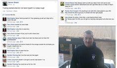 #EDL's Darren Shield on the run. #bluehand