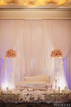 WedLuxe– An Opulent, Orchid-filled Wedding Featured in our Current Issue | Photography by: Vasia Weddings Follow @WedLuxe for more wedding inspiration!