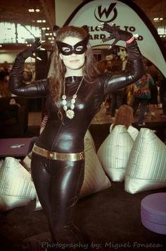 retro Catwoman.