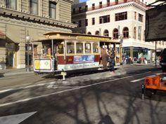 Cable Car de São Francisco, estações Powell & Mason. Foto de Cristina Sueta.