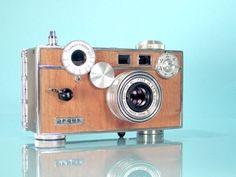 Ilott Vintage's Beautiful Restored Wood Veneer Film Cameras