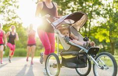 Best Fit Mom Tips Really good list of workout tips. For me I try to take lots of walks outside, do stretches and yoga - or short intervals - while he plays, and get up before he does to squeeze in some gym time.
