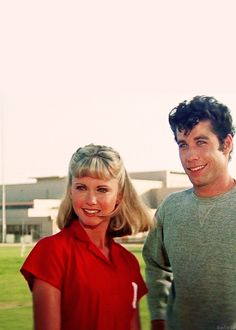 Grease w/John Travolta and Olivia Newton-John ... I remember standing in line for a very long time in the summer of 1978 as a teenager to see this movie ...