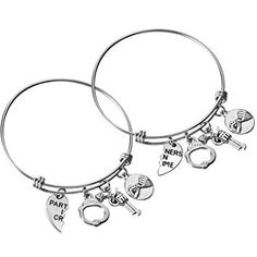 Live Love Laugh Happy 30th Birthday Jewelry Expandable Charm Bracelet Silver Adjustable Bangle One Size Fits All Gift 30 Year Grapes Red Wine Glass Other Year Options Available Customization Options