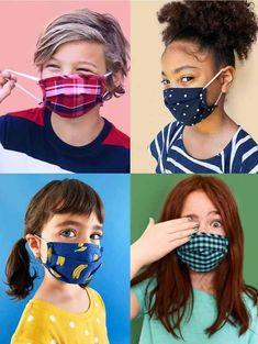 Diy Mask, Diy Face Mask, Face Masks For Kids, Girls Club, Fashion Face Mask, Old Navy, Stylish, Money, Youtube