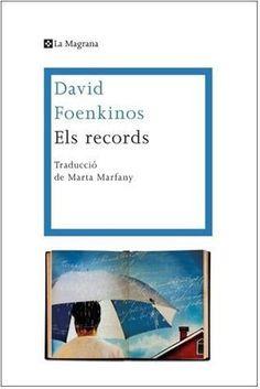 """#alatauletadenit de la Glòria hi ha dormit """"Els records"""", de David Foenkinos. Ens comenta que li va agradar molt més """"La delicadesa"""", del mateix autor. Tot i que té passatges molt bells, li ha trobat alguna mancança."""