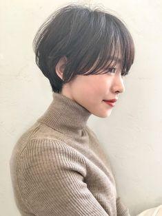 黒髪マッシュショート in 2020 Estilo Tomboy, Korean Short Hair, Androgynous Hair, Shot Hair Styles, Japanese Hairstyle, Hair Images, Love Hair, Up Hairstyles, Hair Inspo