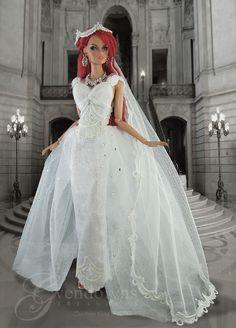 Wedding Dresses With Bling .Wedding Dresses With Bling Barbie Wedding Dress, Wedding Doll, Wedding Dress With Veil, Wedding Dress With Pockets, Fit And Flare Wedding Dress, Princess Wedding Dresses, Fall Wedding Dresses, Barbie Dress, Cheap Wedding Dress