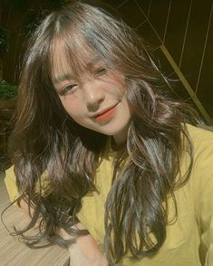 Ulzzang Korean Girl, Cute Korean Girl, Asian Girl, Shot Hair Styles, Curly Hair Styles, Cute Girl Face, Cool Girl, I Love Girls, Cute Girls