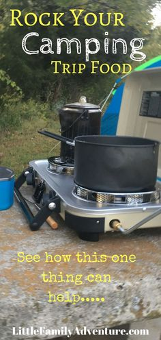 Make your next camping trip rock when you cook on this propane stove from Coleman. It makes camp cooking easier and faster. See how you can make light work on your next family camp out Best Camping Stove, Camping Meals, Go Camping, Camping Hacks, Camping Recipes, Camping Cabins, Luxury Camping, Camping Trailers, Camping Stuff