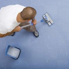 Carpet adhesive can be removed with boiling water.