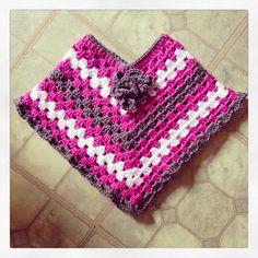 PDDesigns: FREE Pattern: Toddler Poncho (sz 12-24 mo) daughter, crochet pattern