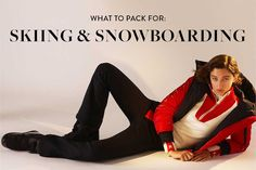 Contrary to what some may think, what to wear skiing and snowboarding is not simply what you might wear on a normal winter day. Here's a handy checklist of what to wear when you are hitting the slopes!  #ski #snowboard #packinglist Ski trip packing list, what to wear skiing, what to wear skiing clothes, ski trip outfit, ski trip essentials, ski trip outfit woman, ski trip packing list women Ski Trip Packing List, Packing Lists, Ski Trip Outfit Woman, Snowboarding, Skiing, Shopping Places, What To Pack, Travel Hacks, Fashion Bloggers