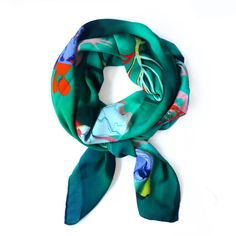 Coral by Charlotte Linton Scarves