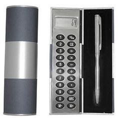 Kit Calculadora e caneta H045 - Calculadoras de Mão