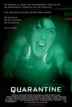 Quarantine - Review: Quarantine (2008) is a 1h 29-min rate R American found-footage supernatural horror thriller film that… #Movies #Movie