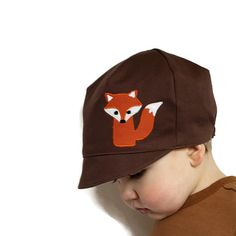 983e750be5a Reversible Fox Hat - Woodland Creature Hat - Boys or Girls - Baby Toddler  or Child