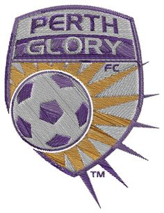 Perth Glory FC  machine embroidery design by BiaForceDesigns, $3.85