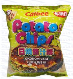 Calbee Okonomiyaki Flavoured Potato Chips