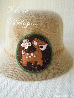 Sombrerito Bambi vintage