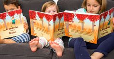 Personalised Child's Story Book - uniquely customised to each child using the letters of their name to create the story!