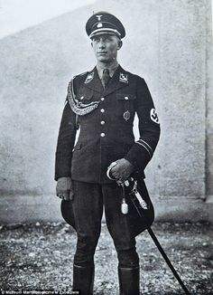 Fiend: Camp Commandant Hans Weibrecht (pictured) was part of the Inspectorate of Concentration Camps and also worked at the Dachau Concentration Camp where tens of thousands of people were killed by the Nazis