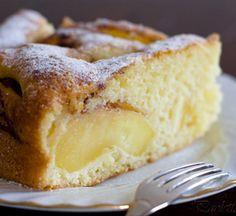 Italian Apple Cake recipe on Healthy Apple Cake, Moist Apple Cake, Easy Apple Cake, Fresh Apple Cake, Apple Cake Recipes, Easy Cake Recipes, Sweets Recipes, Brownie Recipes, Easy Desserts