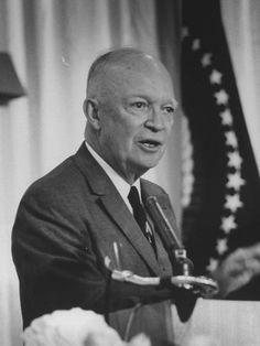 Pres. Dwight D. Eisenhower Speaking at GOP Convention