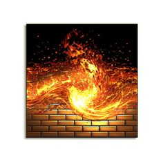 Fiery Wall of Protection Conjure Oil Helps build a wall of protection around you at all times. Use in Bath and use in mop water. Sprinkle around the side of the home for complete protection Build A Wall, The Conjuring, Magick, Incense, Witch, Oil, Times, Studio, Witches