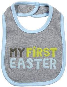 My First Easter bib My First Easter, Easter Baby, Pregnancy, Boys, Crafts, Baby Boys, Manualidades, Pregnancy Planning Resources, Handmade Crafts