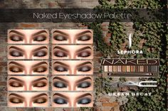 Naked Eye-shadow Palette by MAC 12 neutral Shades... - Cosimetics
