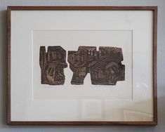 John Lee Brutalist Lithograph  Pueblo Circa 1960 Edition 75/150 Available at @housewrightgallery. Frame, Instagram, Home Decor, Picture Frame, Decoration Home, Room Decor, Frames, Interior Design, Home Interiors