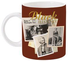Celebrate Black History Month with this stylish coffee mug. Mug size 4.25″ H x 3.5″ W.