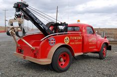 1950 Ford F6 It's a 1950 Ashton Wrecker Bed