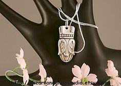 Silver Spoon Pendant DANISH PRINCESS by theartandglassstudio, $14.99