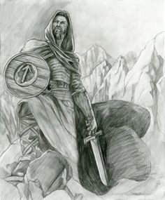 Tyr  - norse-mythology Fan Art - God of glory