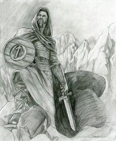 Tyr  - norse-mythology Fan Art - God of glory
