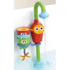 Yookidoo Flow 'N' Fill Spout - constant running water in the bath without wasting water