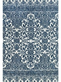This Carina Indigo White Collection rug (4134F) is manufactured by Feizy.