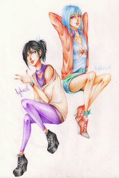 Gender bender: Armin and Alexy by rgbvscb