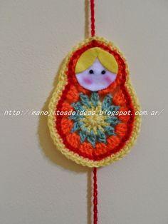 Cute Crochet, Knit Crochet, Russia Culture, Learn To Crochet, Crochet Designs, Crochet Projects, Crochet Earrings, Dolls, Christmas Ornaments