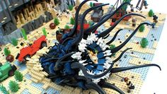 It's unlikely LEGO will ever produce an H.P. Lovecraft-themed line of LEGO sets — what with the cosmic abominations and the creeping madness and unholy geometry and all that jazz —but that hasn't stopped several intrepid builders from constructing their own eldritch play sets.