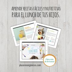 LUNCHBOX, la solución más saludable para todas las mamás #Salud #Nutrición #Niños #Alimentación #PlaceresOrgánicos