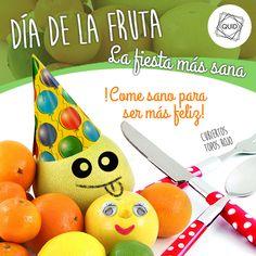 Disfruta del Día de la Fruta!! Cuál es tu fruta preferida?