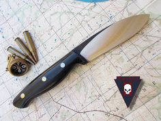 Turley Knives Green River with no pommel plate