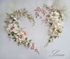 Wonderful Ribbon Embroidery Flowers by Hand Ideas. Enchanting Ribbon Embroidery Flowers by Hand Ideas. Silk Ribbon Embroidery, Beaded Embroidery, Cross Stitch Embroidery, Embroidery Patterns, Hand Embroidery, Japanese Embroidery, Embroidery Books, Embroidery Supplies, Embroidery Needles