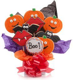 Halloween Cookie Bouquet.