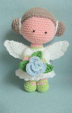 Flower Angel Amigurimi